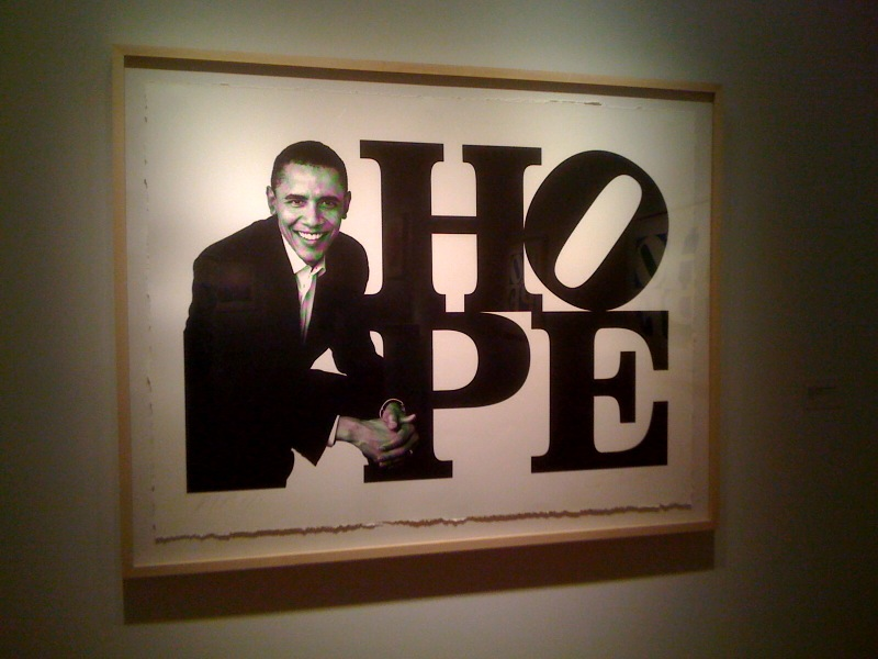 Obama Portrait_Black & White, 2009