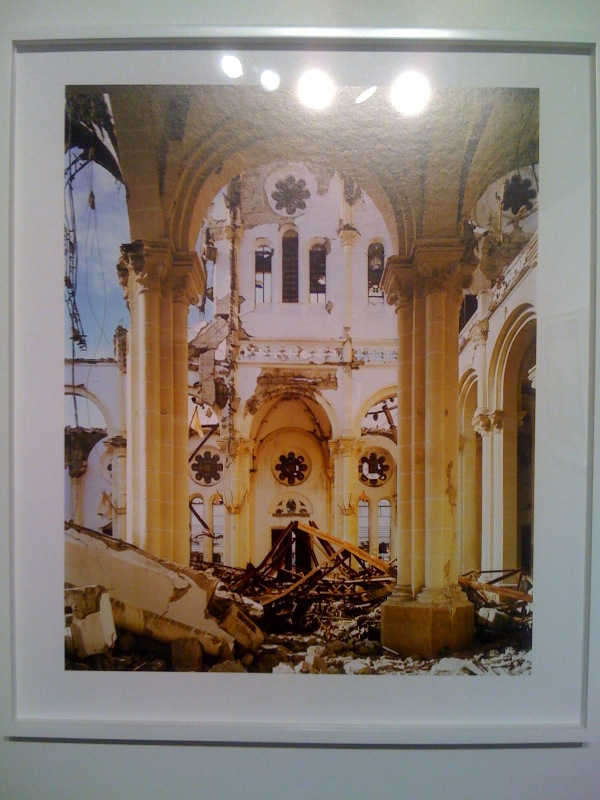 Cathedral of the Lady of the Assumption, Port-au-Prince, Tent Life_Haiti, Wyatt Gallery