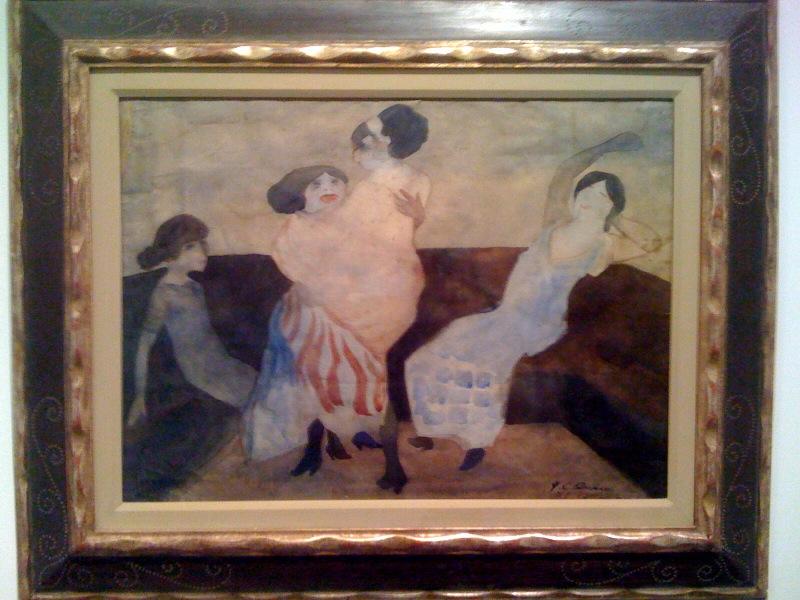Jose Clemente Orozco, Mujeres balando (De la series Casas de lagrimas), ca 1913