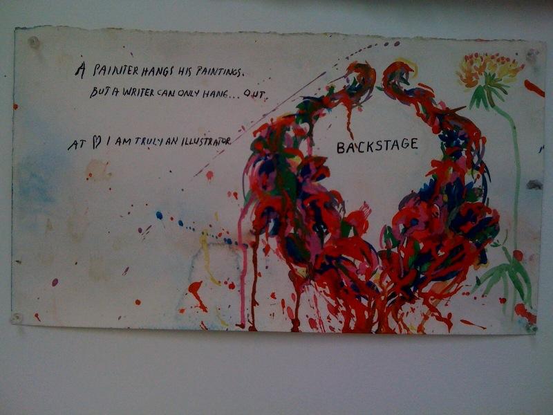 No Title (A painter hangs...), 2010