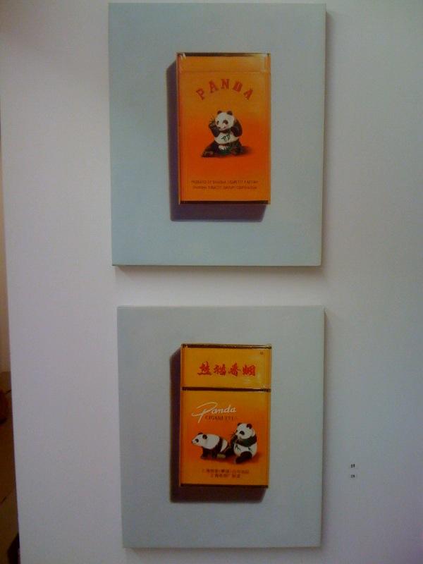 Panda (One), 2010, Panda (Two), 2010