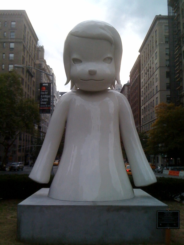 White Ghost, 2010, Park Ave & 67th, closeup