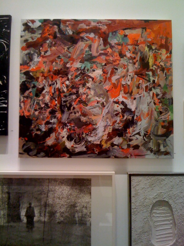 Cecily Brown, The Torment of St. Anthony, 2010