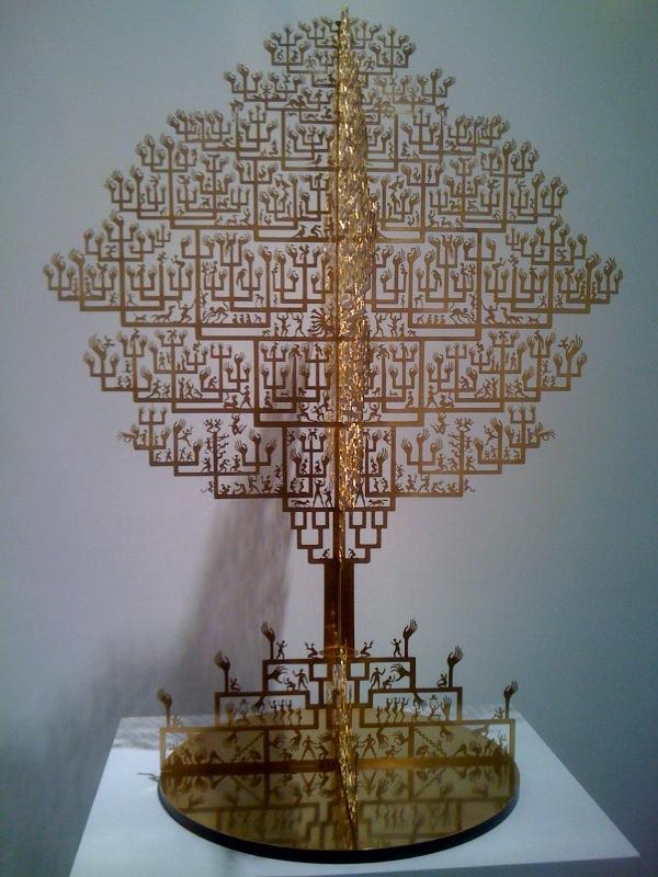 Jian'an Wu, Golden Tree, 2006