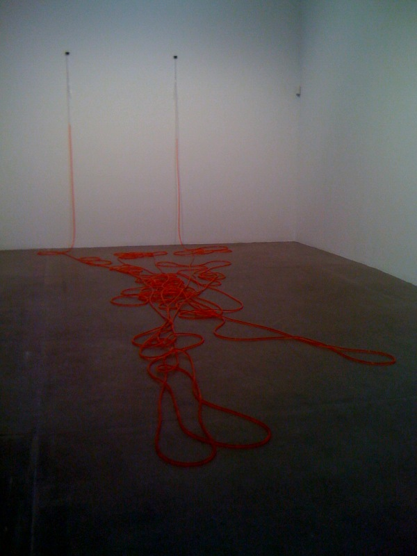 Untitled, 2011, red