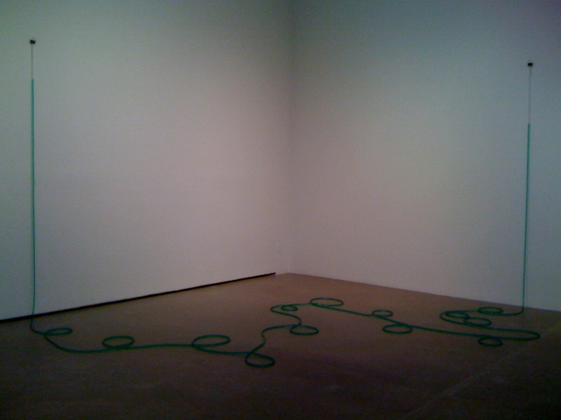Untitled, 2011, green
