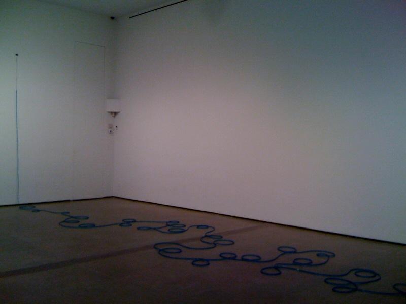 Untitled, 2011, blue