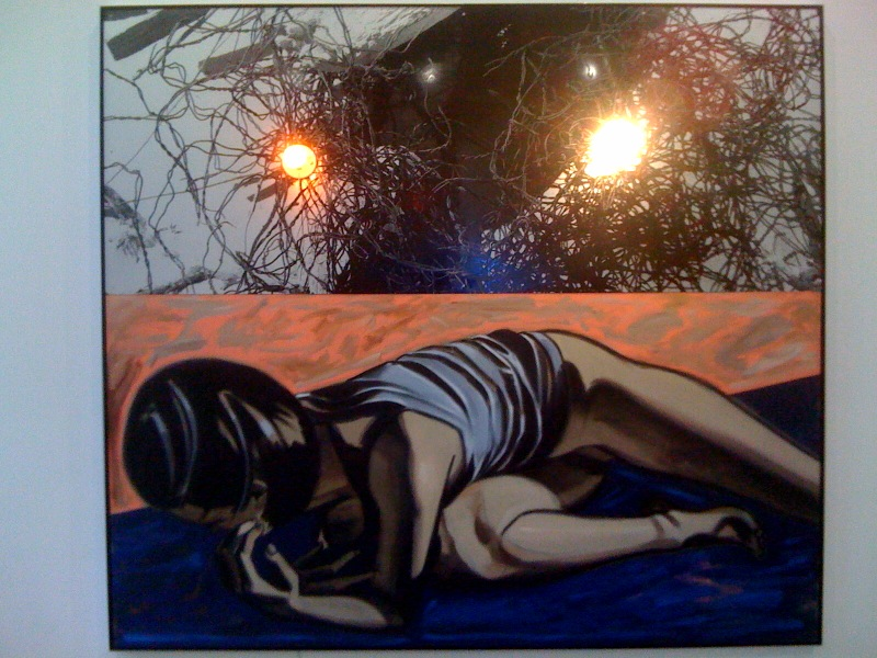 David Salle, I've Got It All Up Here, 2010, Maureen Paley, London, at Indepent