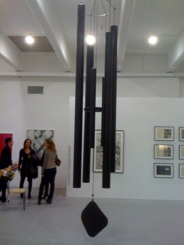 Klaus Weber, Large Dark Wind Chime, 2008, Andrew Kreps, NY at Independent