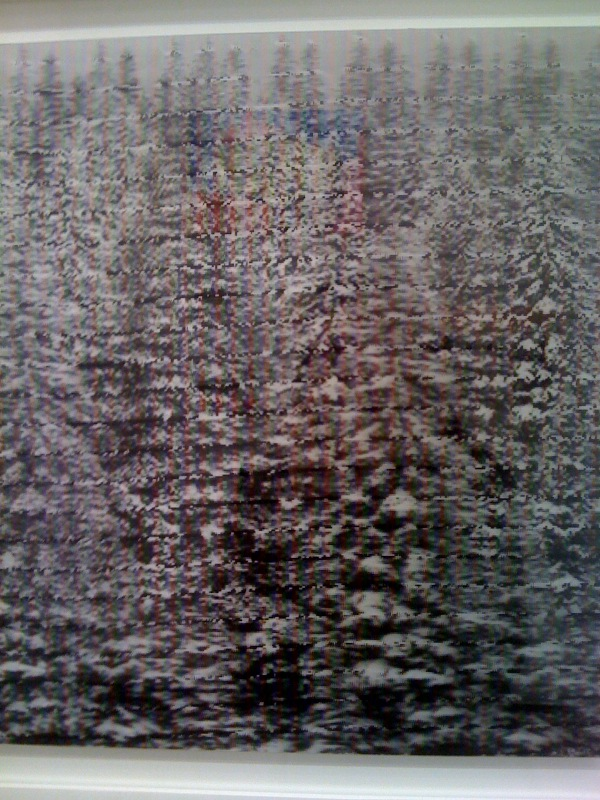 Dan Hays, Colorado Snow Effect No. 8, close up, Zurcher Studio at Salon Zurcher