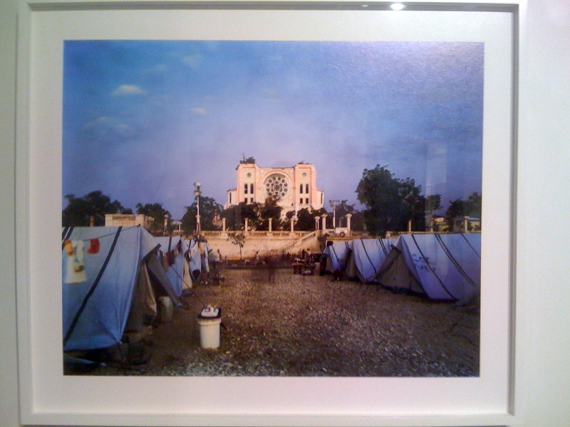 Cathedral in Ruins, Downtown Port-au-Prince, Tent Life_Haiti, Wyatt Gallery