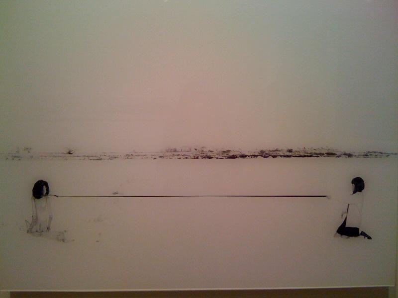 Existential Emptiness No. 8, 2009, close up