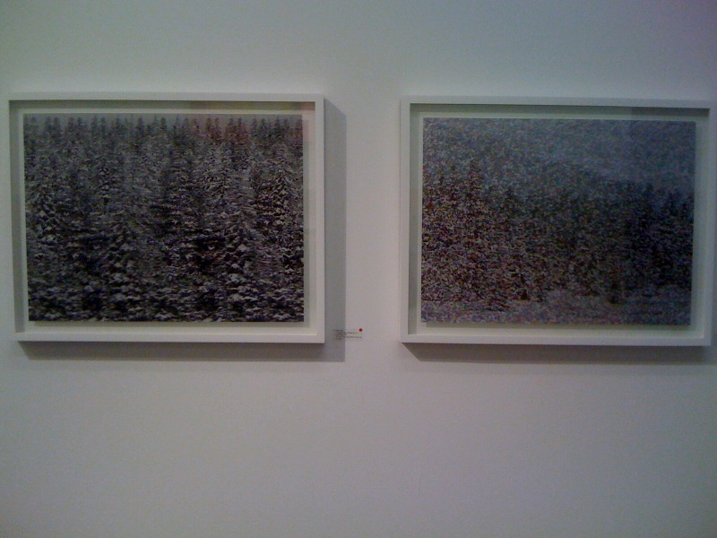 L-R_Dan Hays, Colorado Snow Effect No. 8, Dan Hays, Colorado Snow Effect No. 7, Zurcher Studio at Salon Zurcher