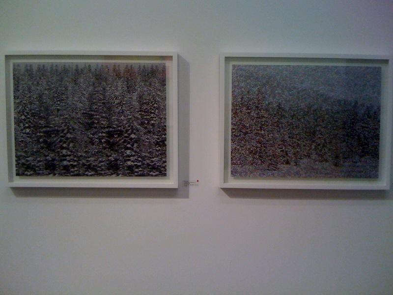 L-R_Dan Hays, Colorado Snow Effect No. 8, Dan Hays, Colorado Snow Effect No. 7, Zurcher Studio at Salon Zurcher
