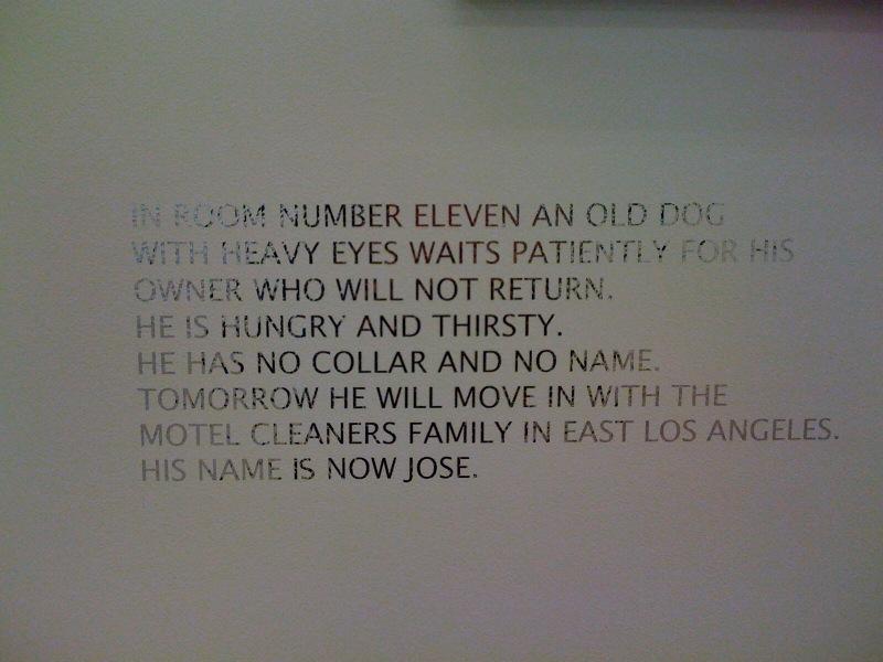 Room 11e text, 1998