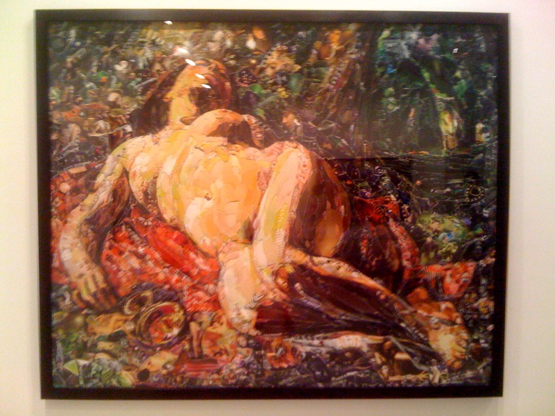 La Bacchante, after Gustave Courbet (Pictures of Magazines 2), 2011