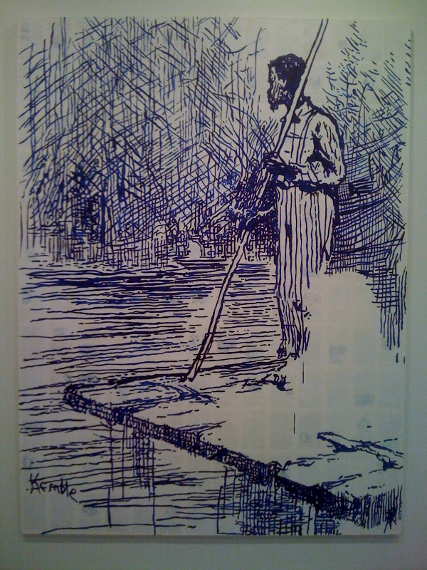 Adventures of Huckleberry Finn - On the Raft (After Mark Twain), 2011