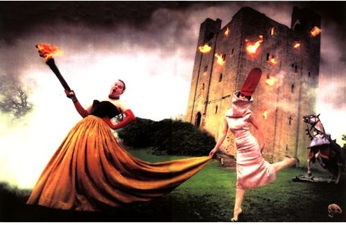 Burning Down the House, David LaChapelle, 1996