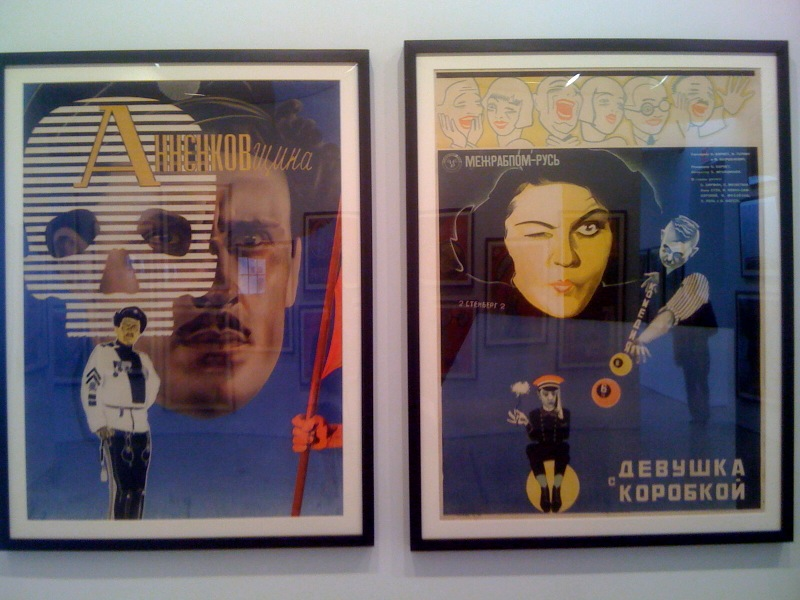 Anatoly Belsky Annenkov, 1933, Georgii & Vladimir Stenberg, The Girl with a Hat-Box, 1927