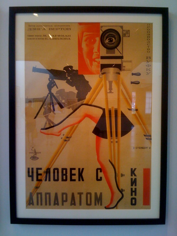 Georgii & Vladimir Stenberg, Man with a Movie Camera, 1929