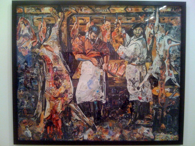 The Butcher's Shop, after Annibale Carracci (Pictures of Magazines 2), 2011