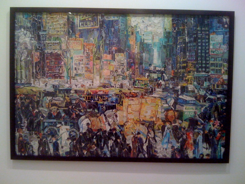 New York City, after George Bellows (Pictures of Magazines 2), 2011