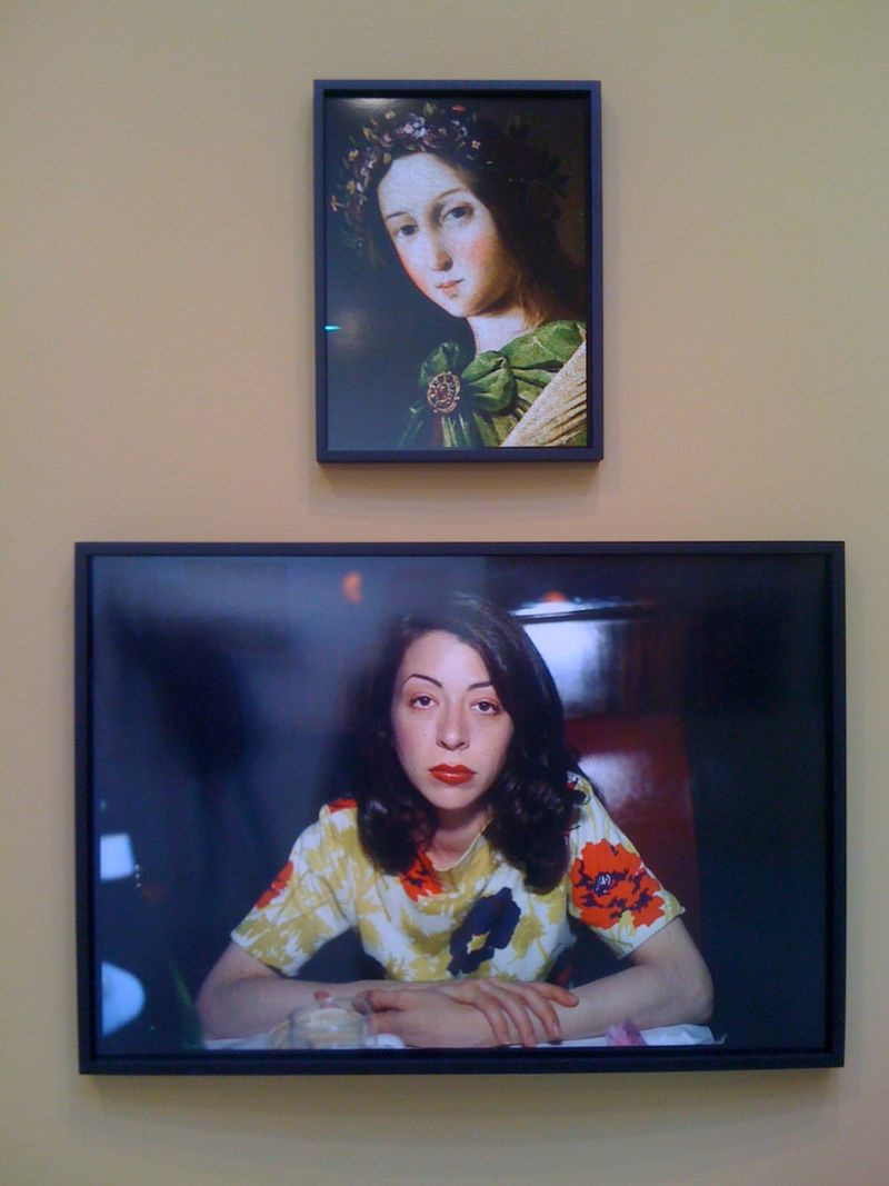 St. Apollonia, Zurbaran, 2011 and Kathleen, NYC, 1993