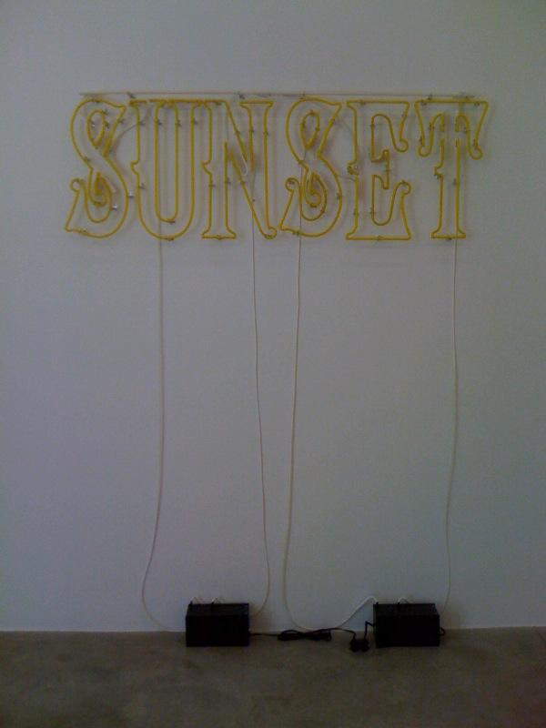 Sunset, (off), 2011