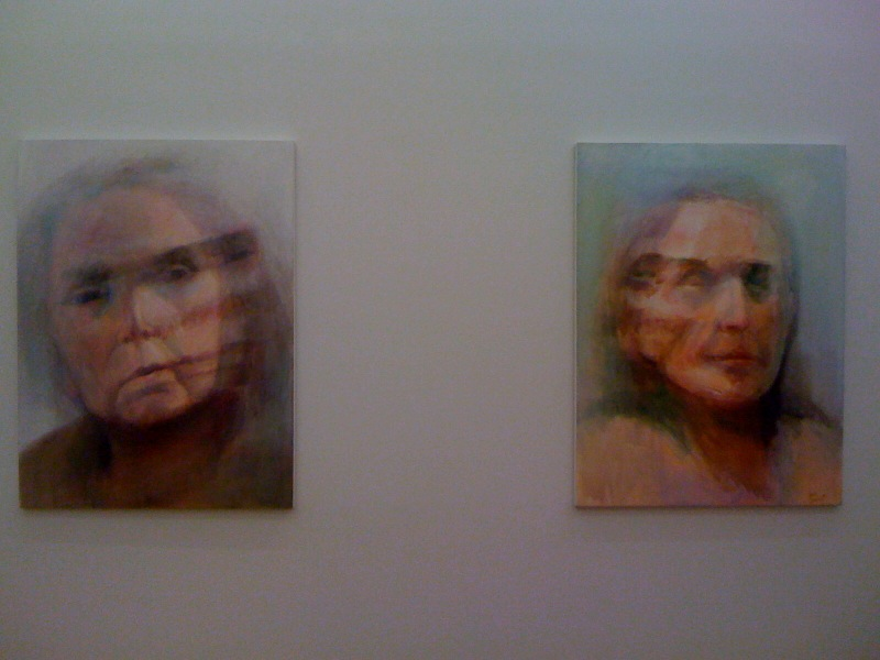Self-Portrait #4, 2010, Self-Portrait #2, 2010, 2