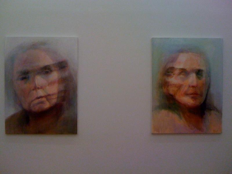 Self-Portrait #4, 2010, Self-Portrait #2, 2010, 2