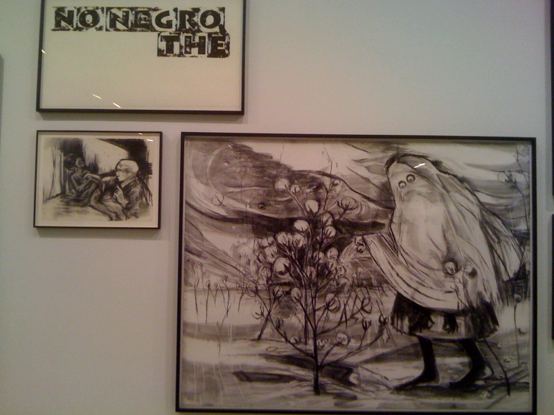 No Negro, the, 2010, Urban Relocator, 2011, Showroom, 2010