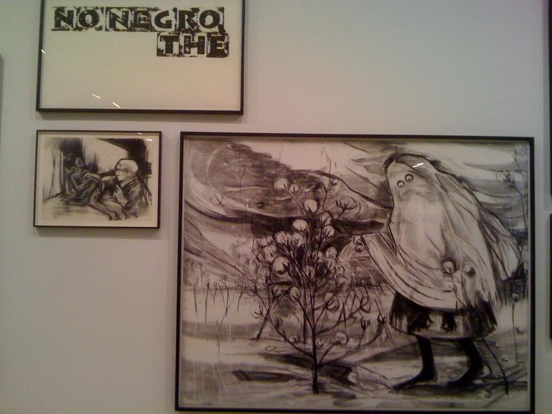No Negro, the, 2010, Urban Relocator, 2011, Showroom, 2010
