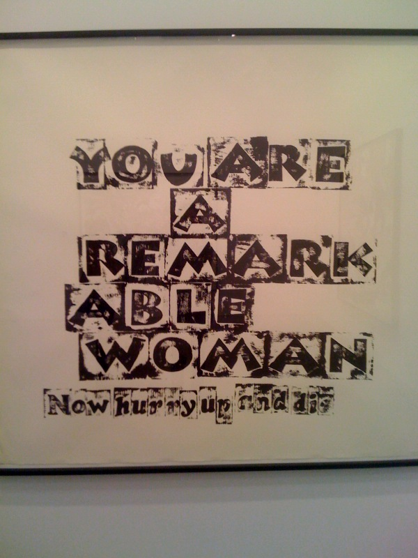 You are a Remarkable Woman, 2010