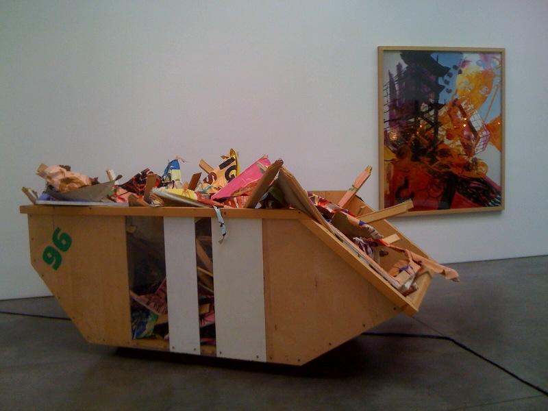 Heavy Burschi, 1991, back wall - Untitled (from the series Heavy Burschi), 1989-90