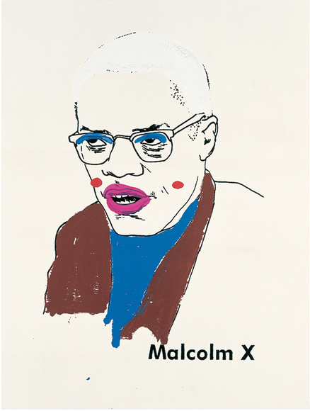 Malcolm X (Version 1) #1, 2000