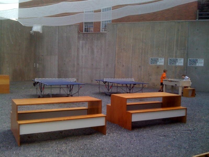 Picnic, Ping Pong, Foosball Tables 2