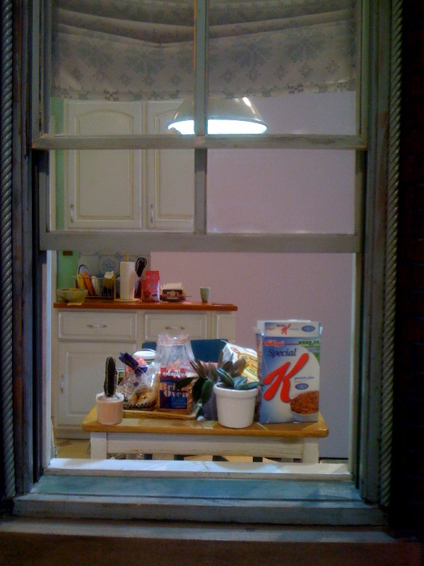 Fallen Star 1:5, Kitchen, Window, 2008-2011