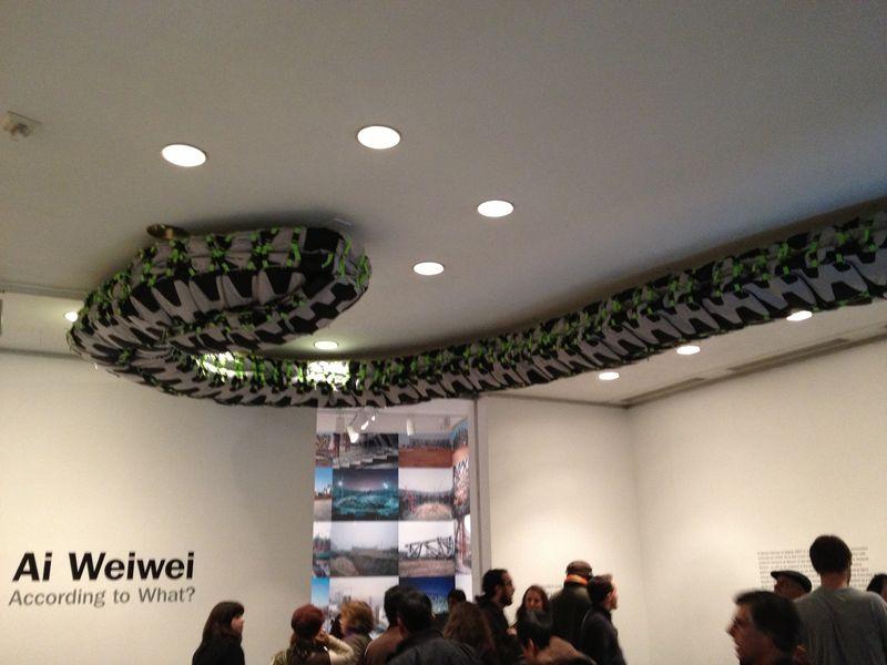Snake Ceiling, 2009, 4