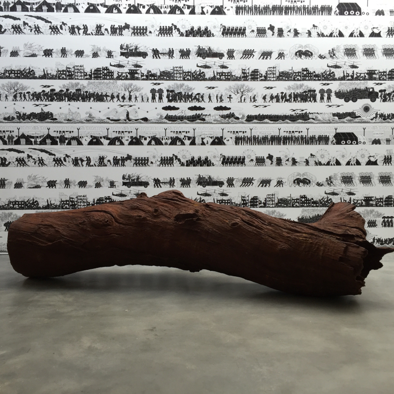 Lisson, Iron Tree Trunk, 2015_2
