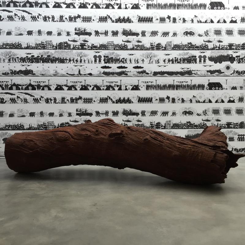 Lisson, Iron Tree Trunk, 2015_2