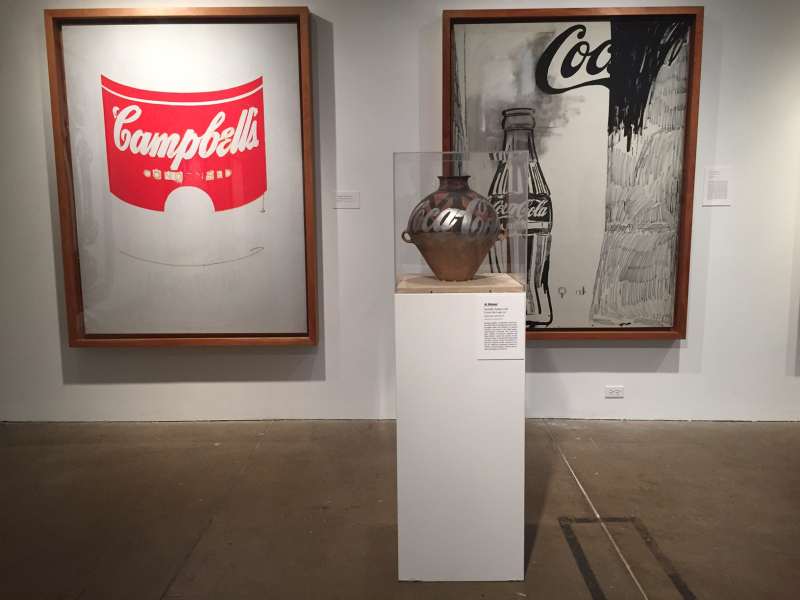 14 Campbell's Soup Can, 1962, Neolithic Pottery w Coco-Cola Logo, 2007, Coca-Cola 2, 1961