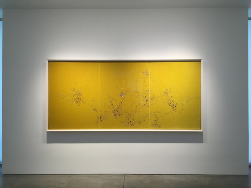 Untitled (Mekamelencolia - Yellow Velvet #1), 2016