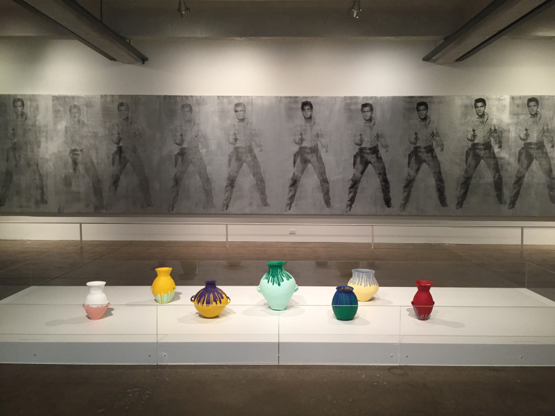 15 Colored Vases, 2011, Elvis 11 Times (Studio Type), 1961