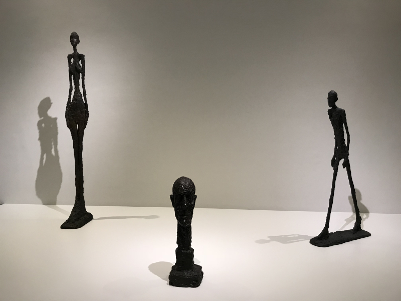1_Monumental Head  Bronze  1960  Tall Woman IV  Bronze  1960-1  Walking Man I  Bronze  1960