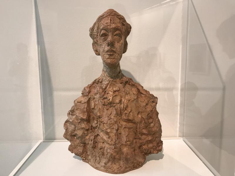 6_Bust of Isaku Yanaihara (I)  Plaster  1960