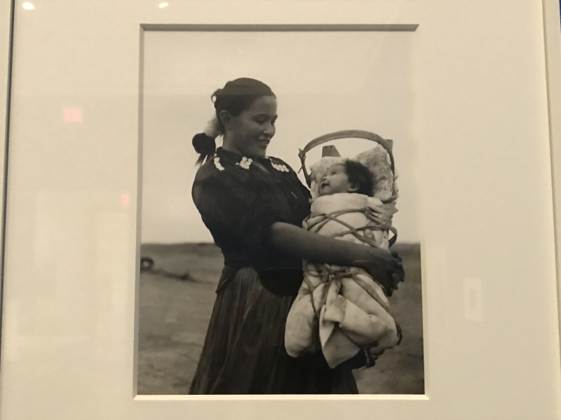 Grete Mannheim  Navajo Mother and Baby  Arizona  1952