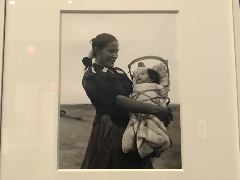 Grete Mannheim  Navajo Mother and Baby  Arizona  1952