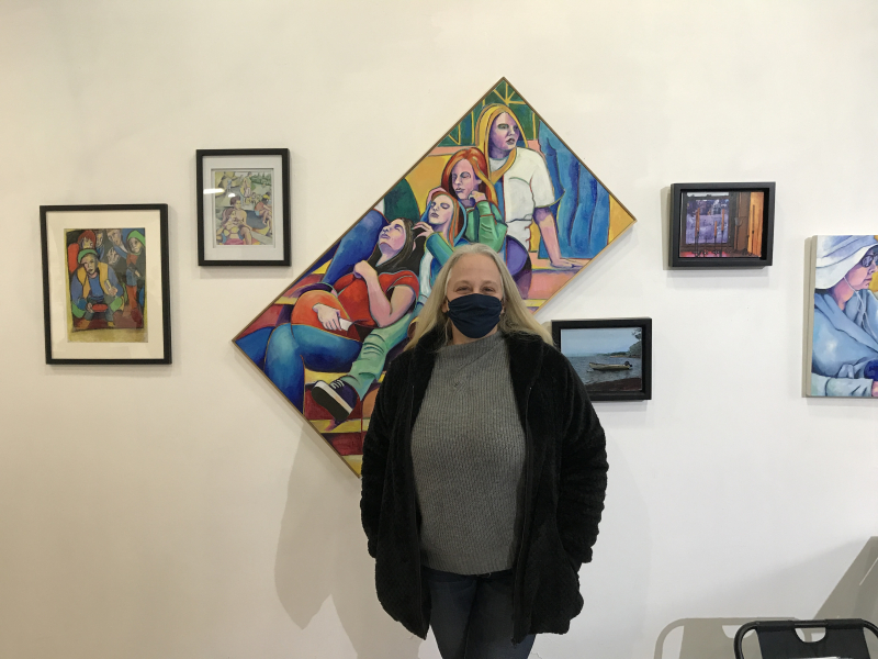 Janie Samuels at BWAC