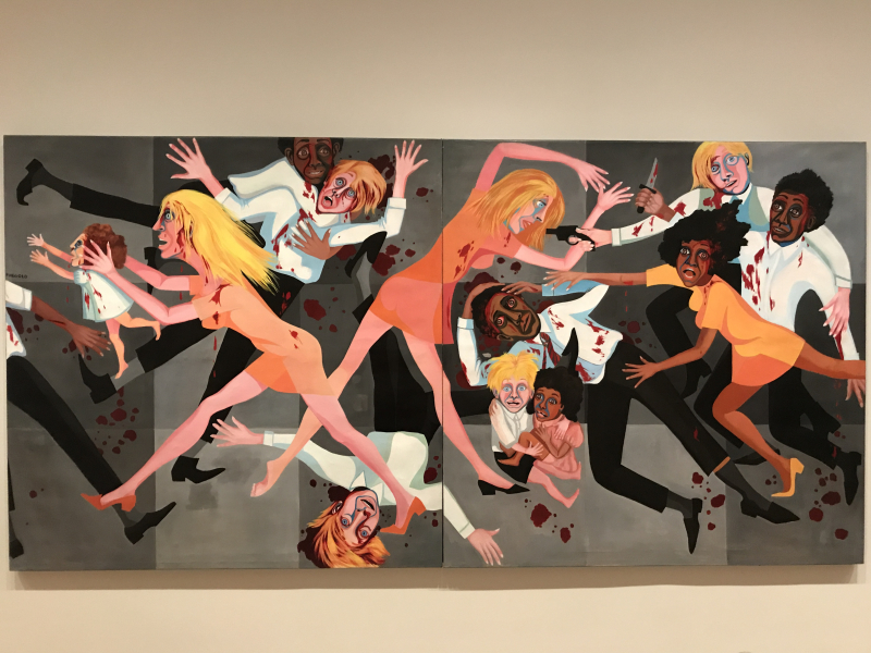 Faith Ringgold_American People Series #20_Die  1967