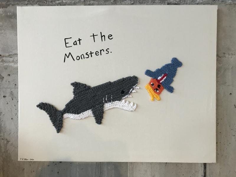 Ellie d'Eustachio  Eat the Monsters #9  2020